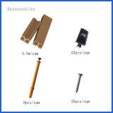 Decking composito di plastica di legno impermeabile della pavimentazione WPC con le clip