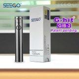 Seego 공장 가격 휴대용 건조한 나물 기화기는 단지를 가진 Vape 건전지를 지브로 고정시킨다 2