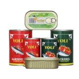 Hot vendre la pâte de tomate en conserve de bonne qualité des aliments en conserve du poisson en conserve