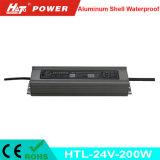 24V 8A 새로운 방수 LED 전력 공급 세륨 RoHS Htl 시리즈