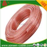 Car Home Audio прозрачных очистить кабель 16AWG 25 ФУТОВ 16/2 манометр для АС