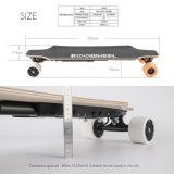 El almacén Koowheel D3m Longboard eléctrico de los 2017 E.E.U.U. Alemania rueda el arce teledirigido del canadiense de la tarjeta 7-Ply del patín