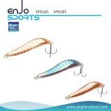 Attrait en bronze de coulage de pêche du fileur 8.5cm avec Vmc les crochets triples
