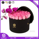 Caixa de empacotamento de papel impermeável do Hamper da flor do chapéu de Rosa
