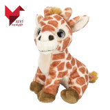 Stuk speelgoed van de Giraf van de Dierentuin van de Pluche van Hotsale het Dierlijke