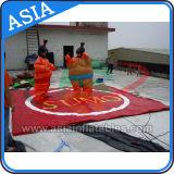 Schaumgummi geauffüllte Sumo-Ringenklagen für Verkauf, aufblasbarer ringender Ring