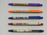 Promoção da bola de caneta esferográfica de plástico Dom