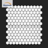 Piccole mattonelle di mosaico della cucina di esagono di mosaico disegno bianco delle mattonelle di nuovo
