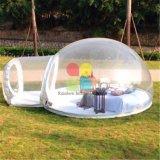 Bolla di Inflatables di campeggio del PVC durevole della tenda e di Inflatables da vendere ed esterno liberi