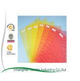 Malha de fibra de vidro resistente alcalinas, utilizado para reforçar o cimento, Pitch, material de parede de pedra, plástico