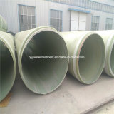 Tubo de alta resistencia de FRP GRP para el abastecimiento del agua