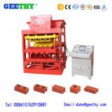 Máquina de fatura de tijolo de bloqueio da argila do logotipo positivo do mestre 7000 de Eco