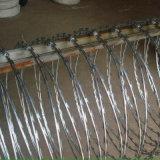 Barbelé en accordéon galvanisé Chaud-Plongé Bto-22 de rasoir