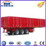 熱い販売の経済的な3つの車軸貨物か販売のための石炭または実用的な輸送の取り外し可能なボックスまたはヴァンTrailer