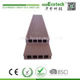 Pavimentazione composita di plastica di legno sembrante piacevole di Decking impermeabile del patio (100H25)