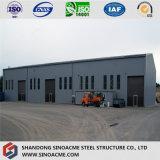 Сопротивление ветра Сборные стальные конструкции склада с помощью крана