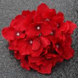 De goedkope In het groot Bloem van de Hydrangea hortensia van de Bloem van de Kunstzijde Plastic Kunstmatige