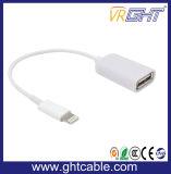 3.0 USB OTG trançado com cabo Tipo C para o cabo de extensão USB