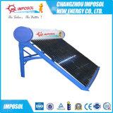 Compact no presurizado calentador de agua solar de acero pintado