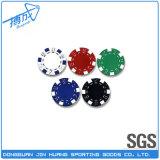 Poker стружки с логотип для игры в покер