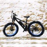 La grasa bicicleta eléctrica con ruedas de 26''
