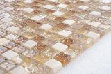 Сад украшения взаимосвязанных мраморным каменными плитками стеклянной мозаики смеси