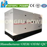 gruppo elettrogeno diesel silenzioso di 66kw 83kVA alimentato da Cummins Engine con Ce/ISO/etc