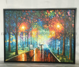 Mur de paysage de l'art de l'huile sur toile peinture pour le décor des chambres