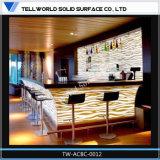 Contador iluminado muebles comerciales especiales de la barra del diseño LED
