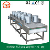 Secador industrial da máquina de secagem de microplaquetas de batata e da flor da lavagem