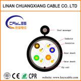 4 accoppiamenti del cavo di lan, UTP Cat5e con il messaggero, ISO/Ce/RoHS
