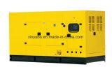 Tipo silenzioso gruppo elettrogeno di Portable100kVA diesel di potere con il certificato del Ce