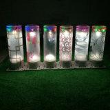 O LED de energia solar Jardim Pátio da luz de stop