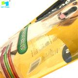 L'alimento per animali domestici stampato di plastica personalizzato si leva in piedi in su il sacchetto a chiusura lampo