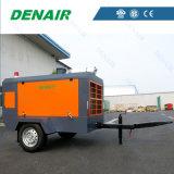 Compresores de aire movibles diesel populares del tornillo de la nueva condición