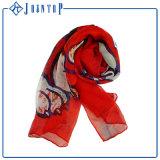 Sciarpa della saia di Ployester di modo dell'importatore della maxi sciarpa della donna nuova
