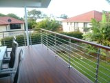 De het regelbare Traliewerk van de Staaf van het Roestvrij staal/Balustrade van de Staaf met Diameter 8mm/12mm de Staaf van de Staaf voor Balkon