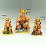 Decorazione religiosa indù dei regali dei prodotti di Moorti dei punti indù poco importanti di Pooja della resina