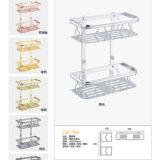 Cestino di alluminio di memoria dello spazio moderno per la stanza da bagno (C611A)