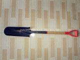 Квадратный лопаткоулавливатель с деревянной ручкой в ручных резцах/инструментах сада Mdp-02