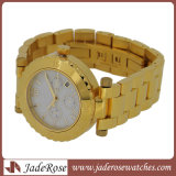 鋼鉄水晶腕時計のレディース・ウォッチ