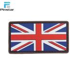 영국 국기 3D 고무 영국 연합 국기 PVC 패치
