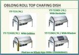 De Ronde Chafing van het Broodje Schotel van uitstekende kwaliteit met Stapelbaar