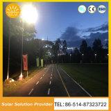 100Wセンサーの庭ライト駐車場が付いている統合された太陽街灯
