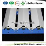 Fácil de limpiar los materiales de construcción en forma de V placa del techo de aluminio con ISO9001