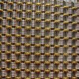 Rete metallica decorativa usata per la parete divisoria