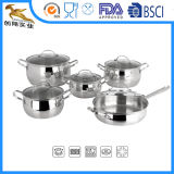 18/10 Stainless Steel Home Appliance Cookware Set Apple Shape (CX-ST1001)
