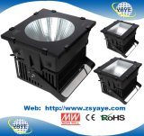 Yaye 18 Hot vender IP65 / CE/RoHS 100W/150W/200W/300W 400W/500W/600W/800W/1000w/1500W High Bay LED / Luz de LED com luz Industrial & Meanwell Cree