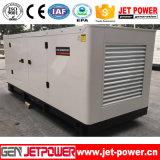 Generador diesel silencioso Cummins Engine 6BTA5.9-G2 modelo de Malasia 100kw 125kVA