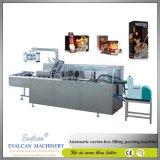 Automatische Kartoniermaschine Zh100/automatische kartonierenmaschine für Ampulle, Phiole, Flasche, Gefäß, Quetschkissen-Beutel, Blase, Seife